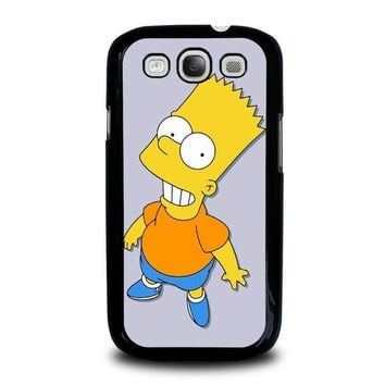 bart simpsons samsung galaxy s3 case cover  number 2