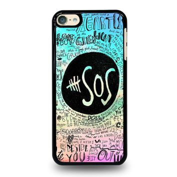 5 SECONDS OF SUMMER 3 5SOS iPod Touch 4 5 6 Case Cover