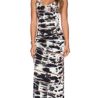 Young, Fabulous & Broke Hamptons Maxi Dress in Black