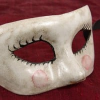 Sporco Bambola (Dirty Doll) Mask for Masquerade/Costume/Halloween/Mardi Gras