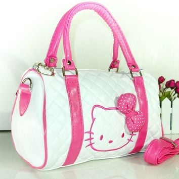 New Hello kitty BAG WITH SHOULDER STRAP PURSE YE-48064P