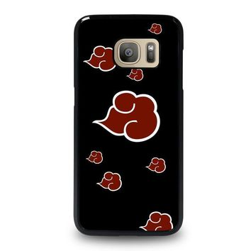 naruto akatsuki clouds samsung galaxy s7 case cover  number 1