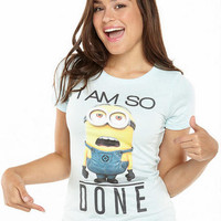 Despicable Me I Am So Done Tee