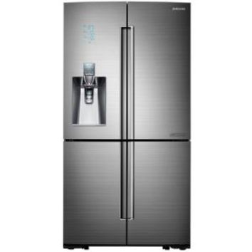 Samsung, Chef Collection 24.1 cu. ft. 4 DoorFlex French Door Refrigerator in Stainless Steel, Counter Depth, RF24J9960S4 at The Home Depot - Mobile