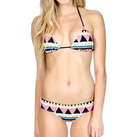 Billabong Nala Triangle Bikini Top - Neon Pink - XT033NAL				 |  			Billabong 					US