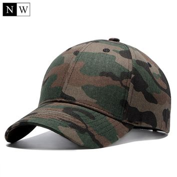 Trendy Winter Jacket High Quality Camo Baseball Cap Men Camouflage Tactical Cap Bone Masculino Dad Hats For Men Bone Beisebol Trucker Cap AT_92_12