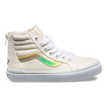 Kids Glitter & Iridescent SK8-Hi Zip | Shop Kids Shoes At Vans