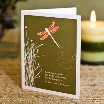 Some People Make The World More Special, A Positively Green Love and Friendship Card