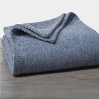 Sequoia Blue Organic Blankets & Throws