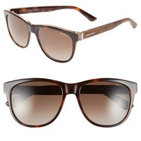 Women's Jimmy Choo 'Rebby' 55mm Retro Sunglasses