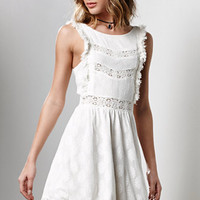 MinkPink Wild Traveler Lace Tank Dress at PacSun.com