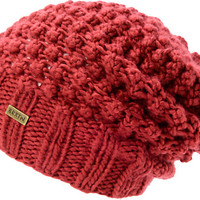 Brixton Women's Patsy Rust Red Slouch Beanie