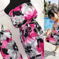 maxi beach mother daughter dresses clothes family look