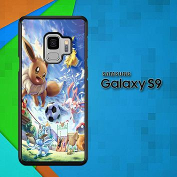 Eevee And Umbreon And Espeon X0915 Samsung Galaxy S9 Case