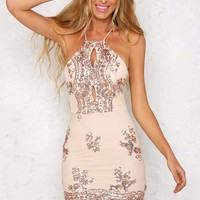 Summery Dress Bronze