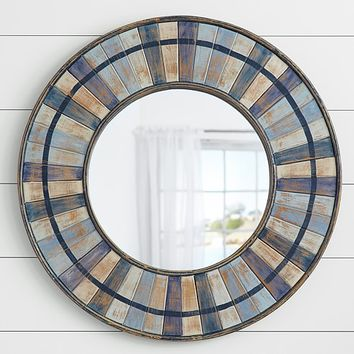 Shades of Blue Mirror | Pottery Barn Kids