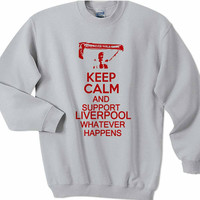 Liverpool Keep Kalm and Support Sweatshirt