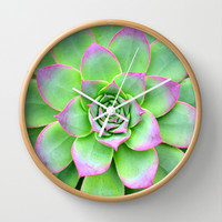 The Longest Bloom Wall Clock by RichCaspian