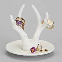 Antler Ring Holder- White One