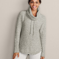 Funnel-neck Sweatshirt Sweater | Eddie Bauer