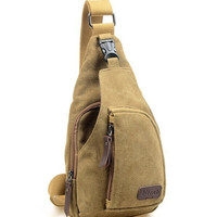 Men's Canvas Backpack /Hiking Bicycle Bag