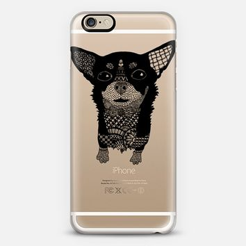Cute Chihuahua Transparent iPhone 6 case by Katopia Design | Casetify