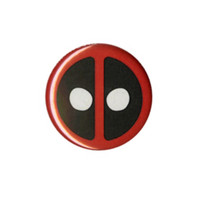 Marvel Comics Deadpool Logo Pin