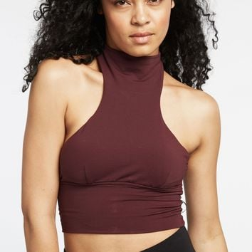 Michi Extension Crop Top - Mulberry