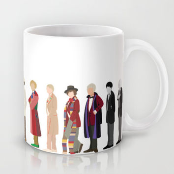 Doctor Who? Mug by The Joyful Fox