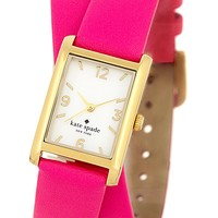 kate spade new york | women's cooper leather wrap strap watch | Nordstrom Rack