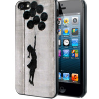 Banksy Balloon Girl Samsung Galaxy S3 S4 S5 Note 3 , iPhone 4 5 5c 6 Plus , iPod 4 5 case, HtC One M7 M8