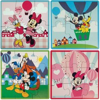 Disney Gang - Four In One Puzzle Set