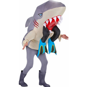 Walmart: Big Animal Head Halloween Costume, Shark with Legs