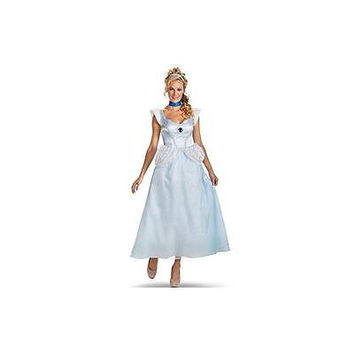 Disguise Disney Cinderella Adult Deluxe Costume, Small 4-6