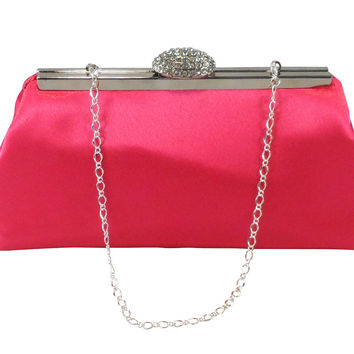 Fuchsia Wedding Clutch