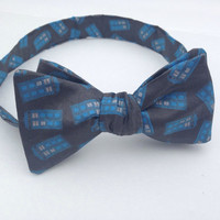 Doctor Who TARDIS Self Tie Bow Tie, Mens Bow Tie, Bow Tie, Doctor Who Baby, Bow Tie, Bow Ties Toddler, Doctor Who, Bowtie,