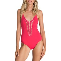 Billabong Hippie Hooray One-Piece Swimsuit - Women's