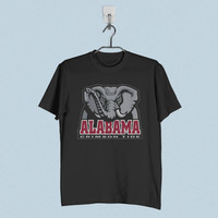 Men T-Shirt - Alabama Crimson Tide NCAA Logo