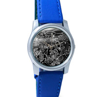 American Dream Illustration Wrist Watch