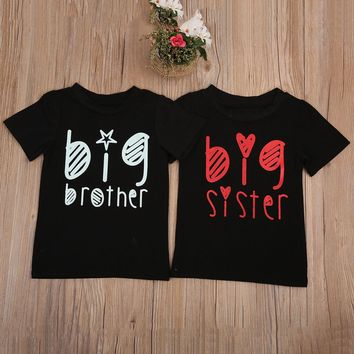 Big Brother Or Sister Star Toddler Tee