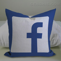 FaceBook 2 302 Pillow Case, Pillow Cover, Custom Pillow Case