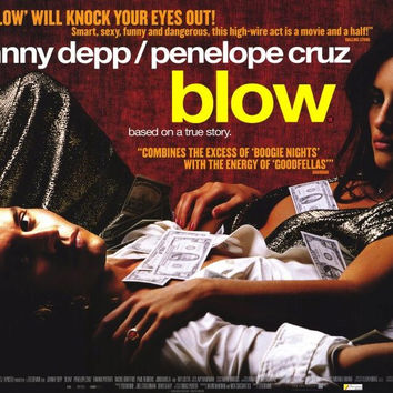 Blow 11x17 Movie Poster (2001)