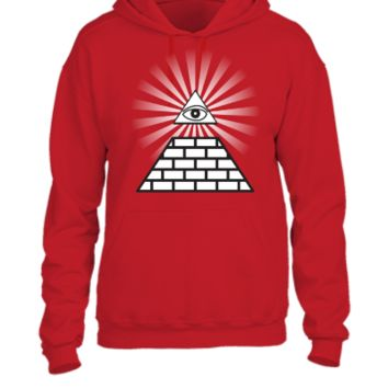 all seeing eye - UNISEX HOODIE