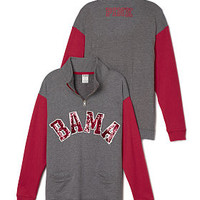 University of Alabama Bling Boyfriend Half-Zip - PINK - Victoria's Secret