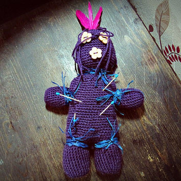 Custom Voodoo Doll - Bohemian Doll - Made to Order -  Boho Tribal Decor - Hippie Home Decor - Bohemian Decor