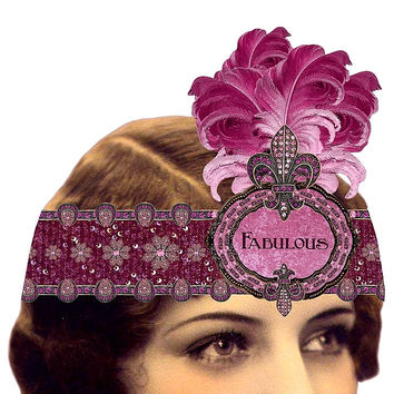 Heart the Moment Greeting Card - Fabulous with Feathers Wearable Tiara