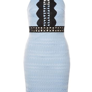 TALL Crochet Lace Bodycon Dress | Topshop