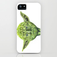 Yoda - Try iPhone & iPod Case by Susaleena