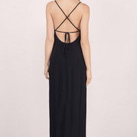 Lily Tie Back Maxi Dress