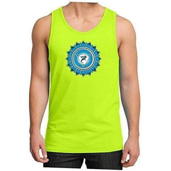 Yoga Clothing for You Mens Vishuddha Chakra Tank Top